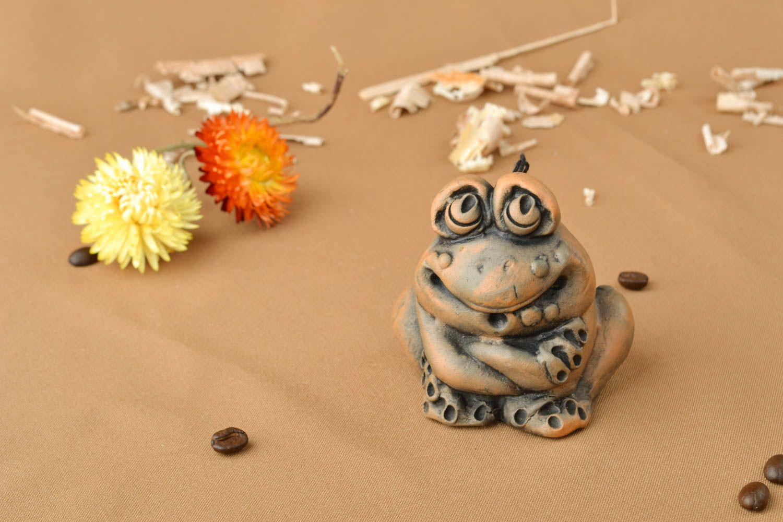 Designer ceramic bell Frog photo 5