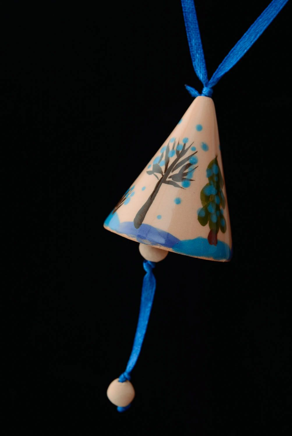 Decorative ceramic bell photo 3