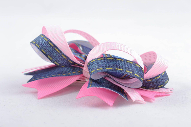 Handmade hair clip Bow photo 2