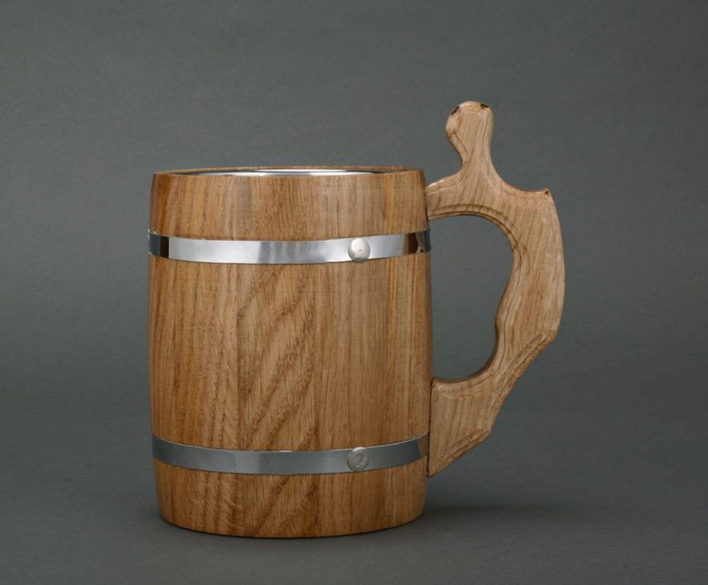 Как сделать деревянную кружку кружка из дерева Hand-made 72