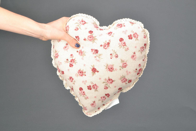 Подушка сердце фото