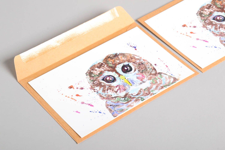 Handmade card unusual card exclusive cards gift ideas unusual greeting card  photo 5