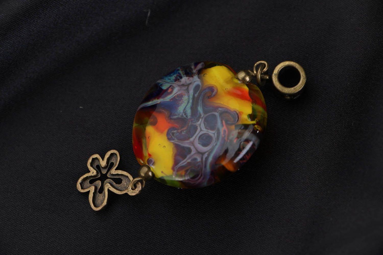 Handmade Anhänger Purpurwolken foto 3