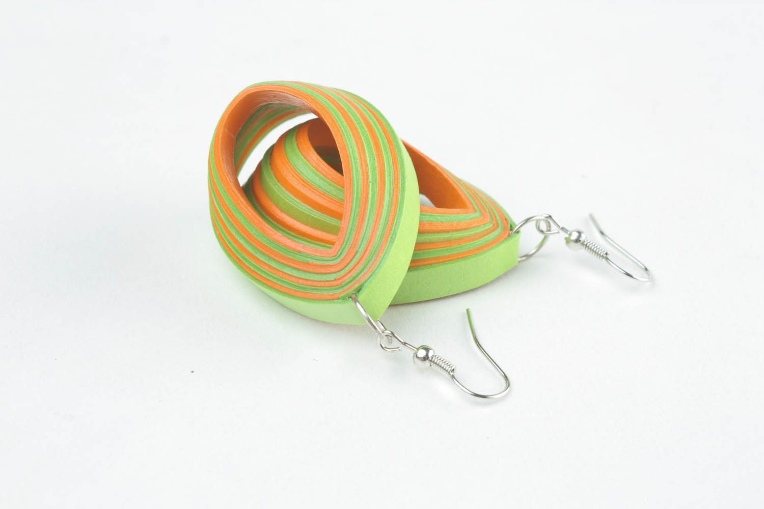 Oval earrings photo 3