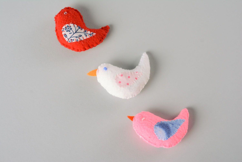 Set of fragrant toys Birds photo 5