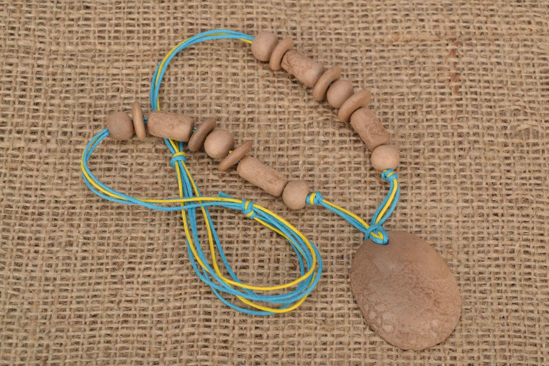 Ethnic bead necklace photo 1