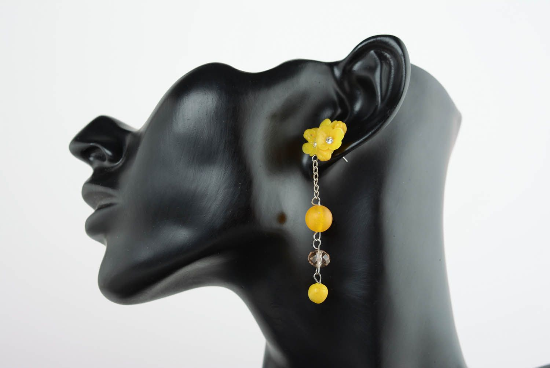 Cuff earrings Wild Flowers photo 1
