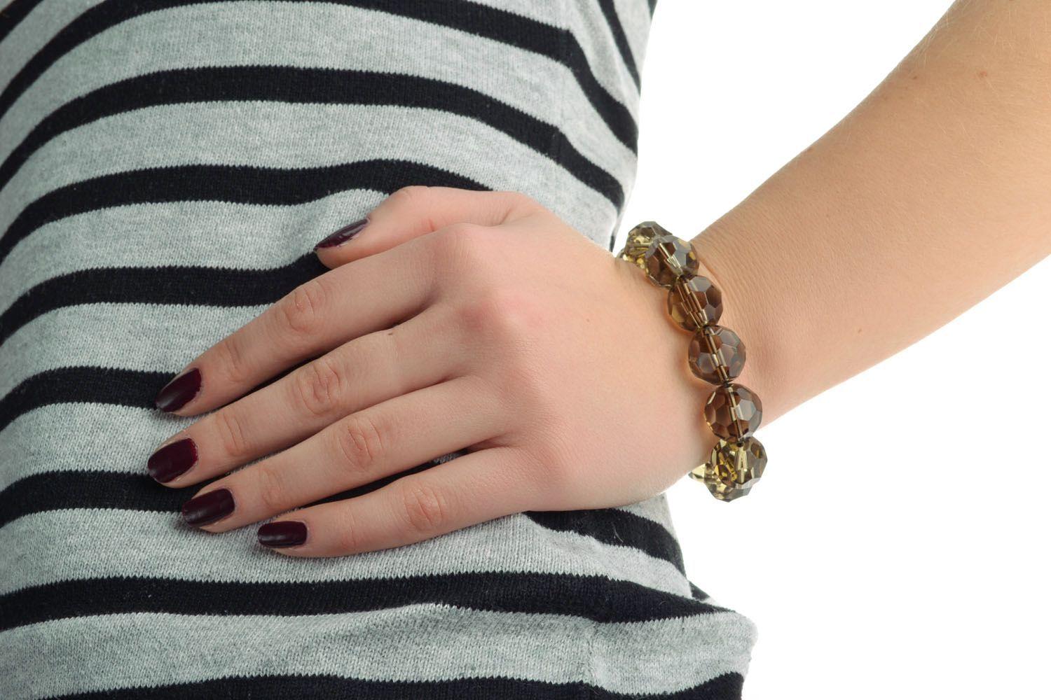 Czech glass bracelet photo 5