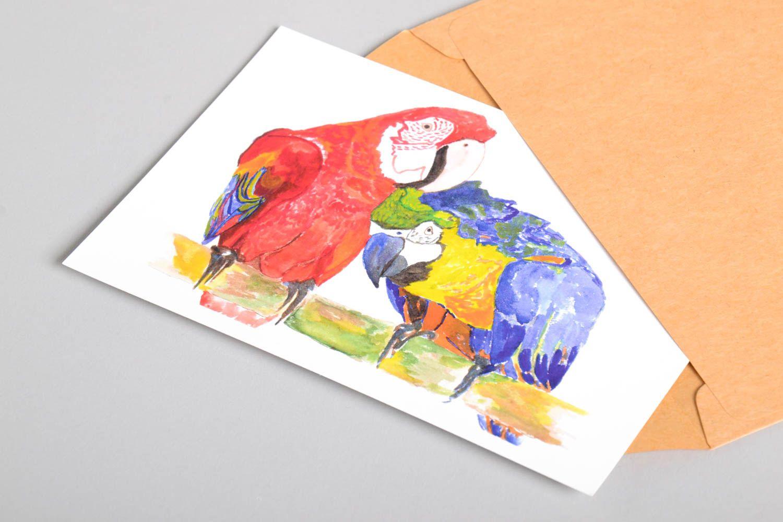 Handmade card unusual greeting card designer card collectible card unusual gift photo 4