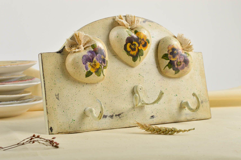 MADEHEART > Wall key holder handmade vintage key holder decoupage ...
