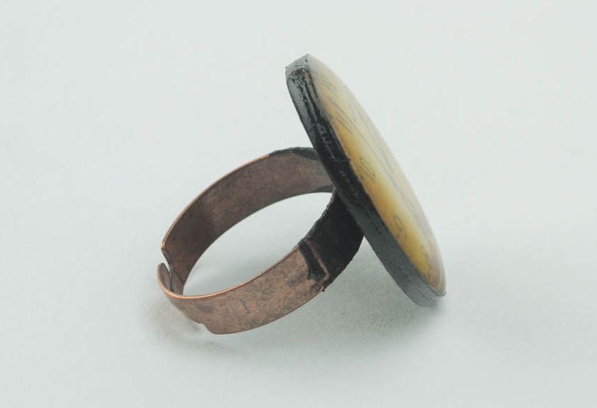 Кольцо ручной работы Париж фото 3