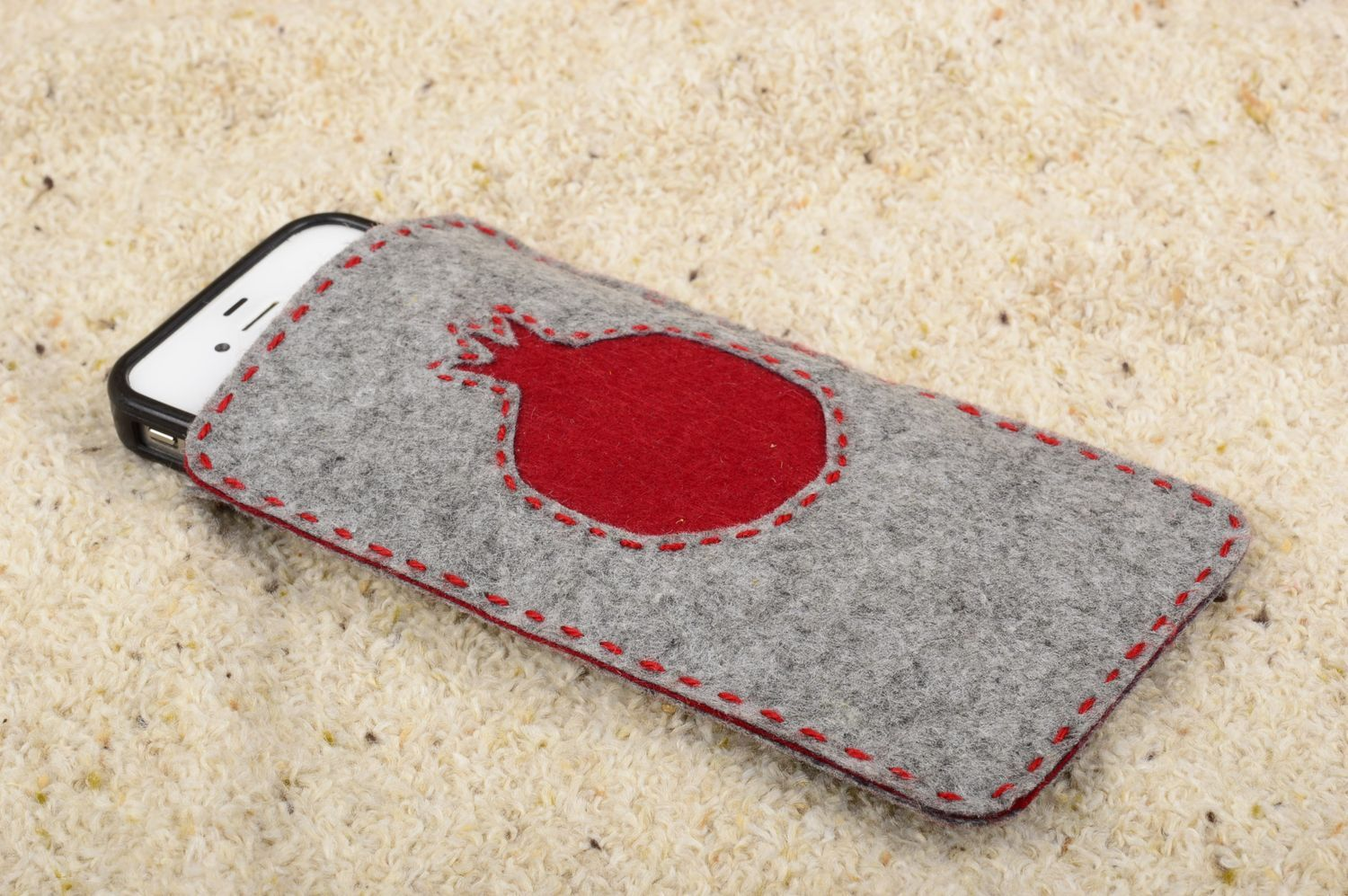 check out 8cc7e 57eb6 Unusual handmade felt phone case cell phone case design handmade accessories