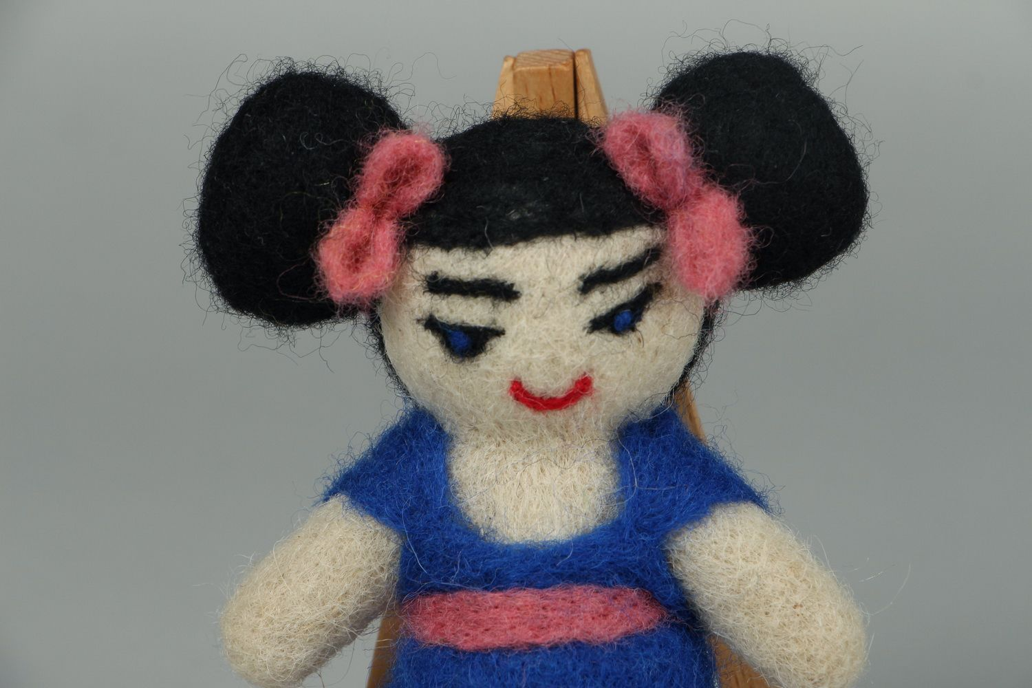 Designer's toy made of wool Japanese photo 2