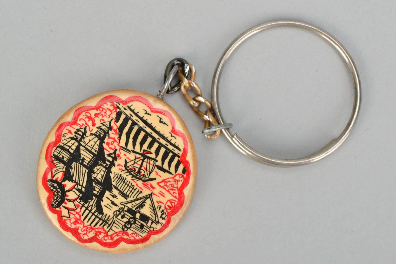 keychains Wooden key chain