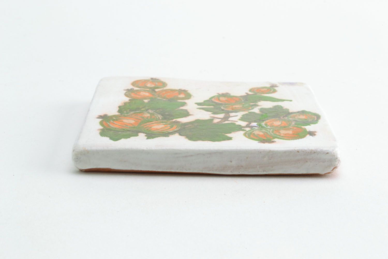 Ceramic magnet for fridge Goosebumps photo 3