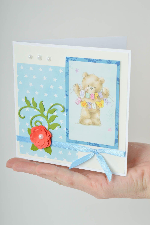 Handmade greeting card handmade birthday card designer postcards souvenir ideas photo 5