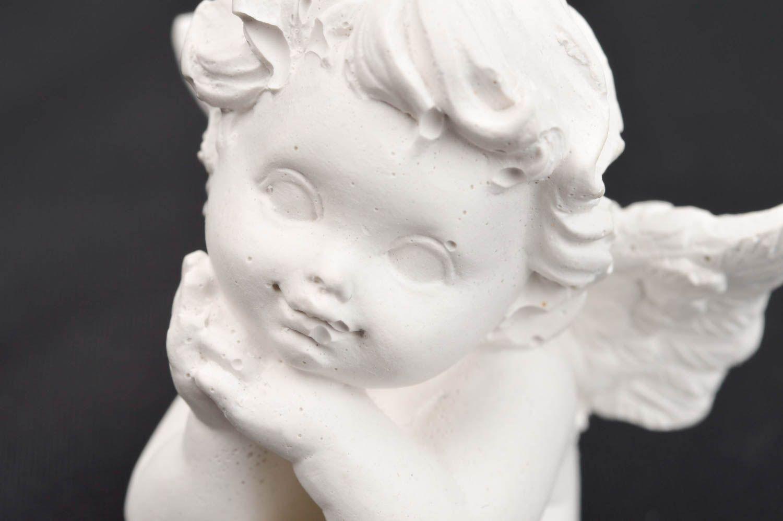 Handmade beautiful angel figurine stylish nursery decor blank for creativity photo 5