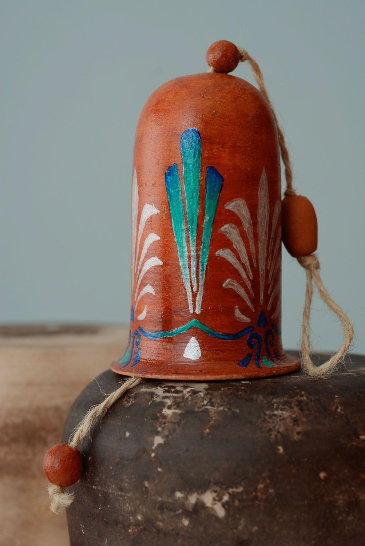 Large ceramic bell photo 1