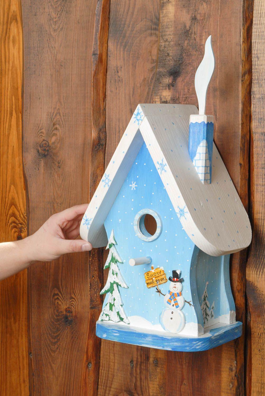 Madeheart caja nido hecha a mano con decoraci n navide a - Decoracion navidena artesanal ...
