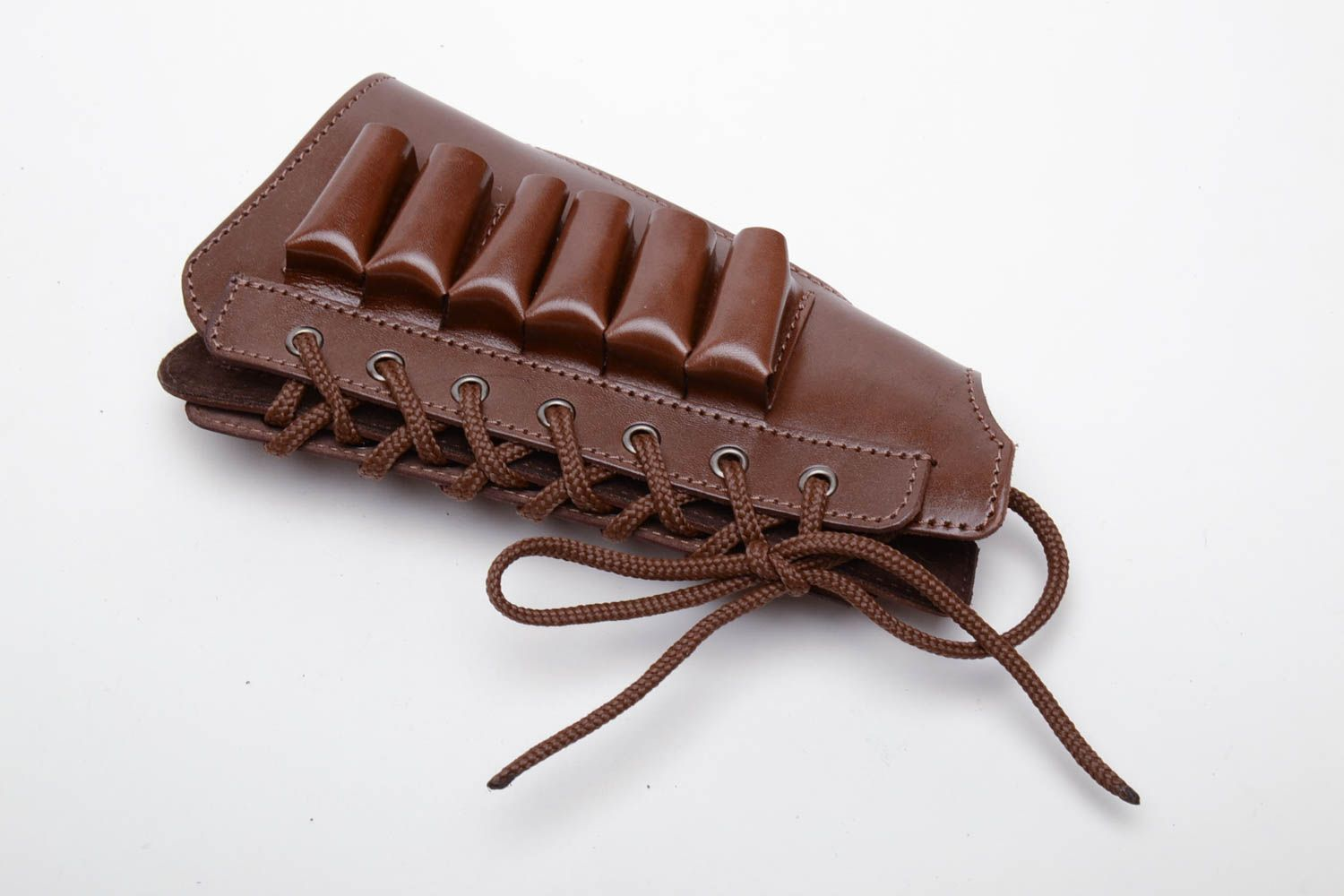 Men's Bags Brown cartridge pouch - MADEheart.com