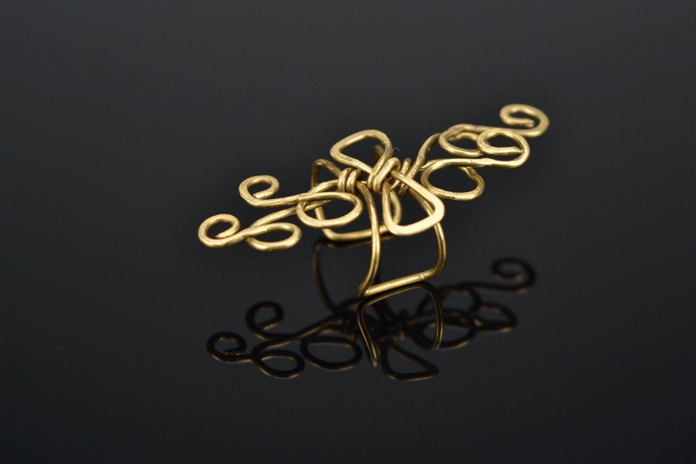 ear cuff Wire wrap latten ear cuff - MADEheart.com