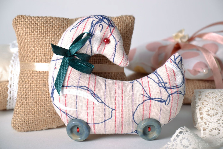 Soft textile toy Duck photo 1