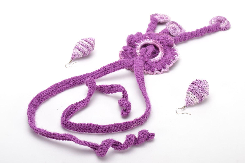 Handmade jewelry set photo 4