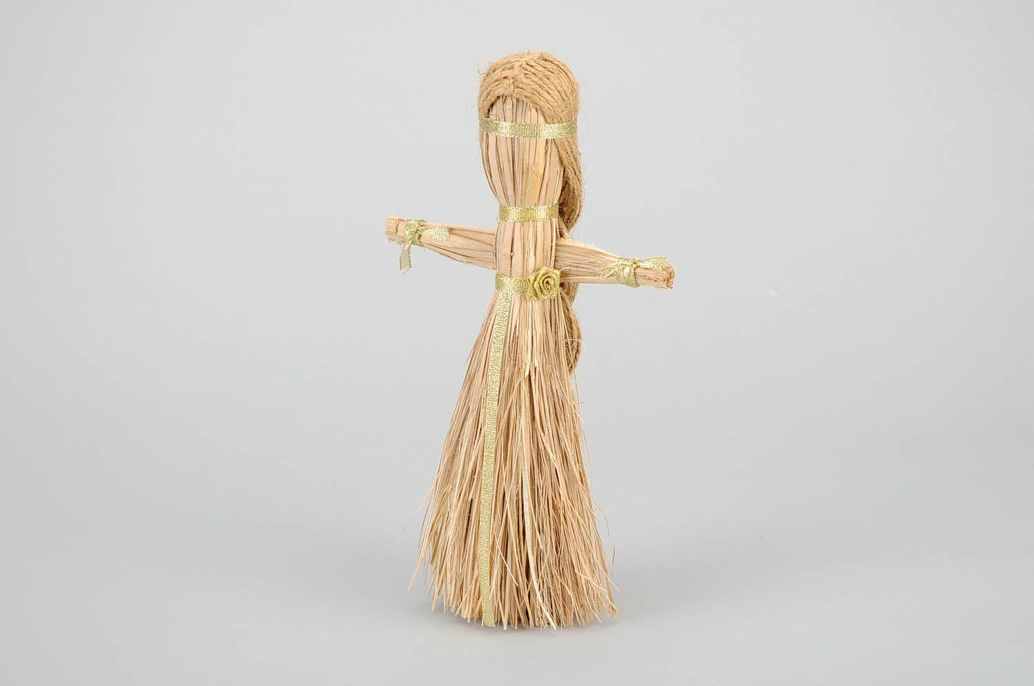 Amulet doll made of natural material photo 3