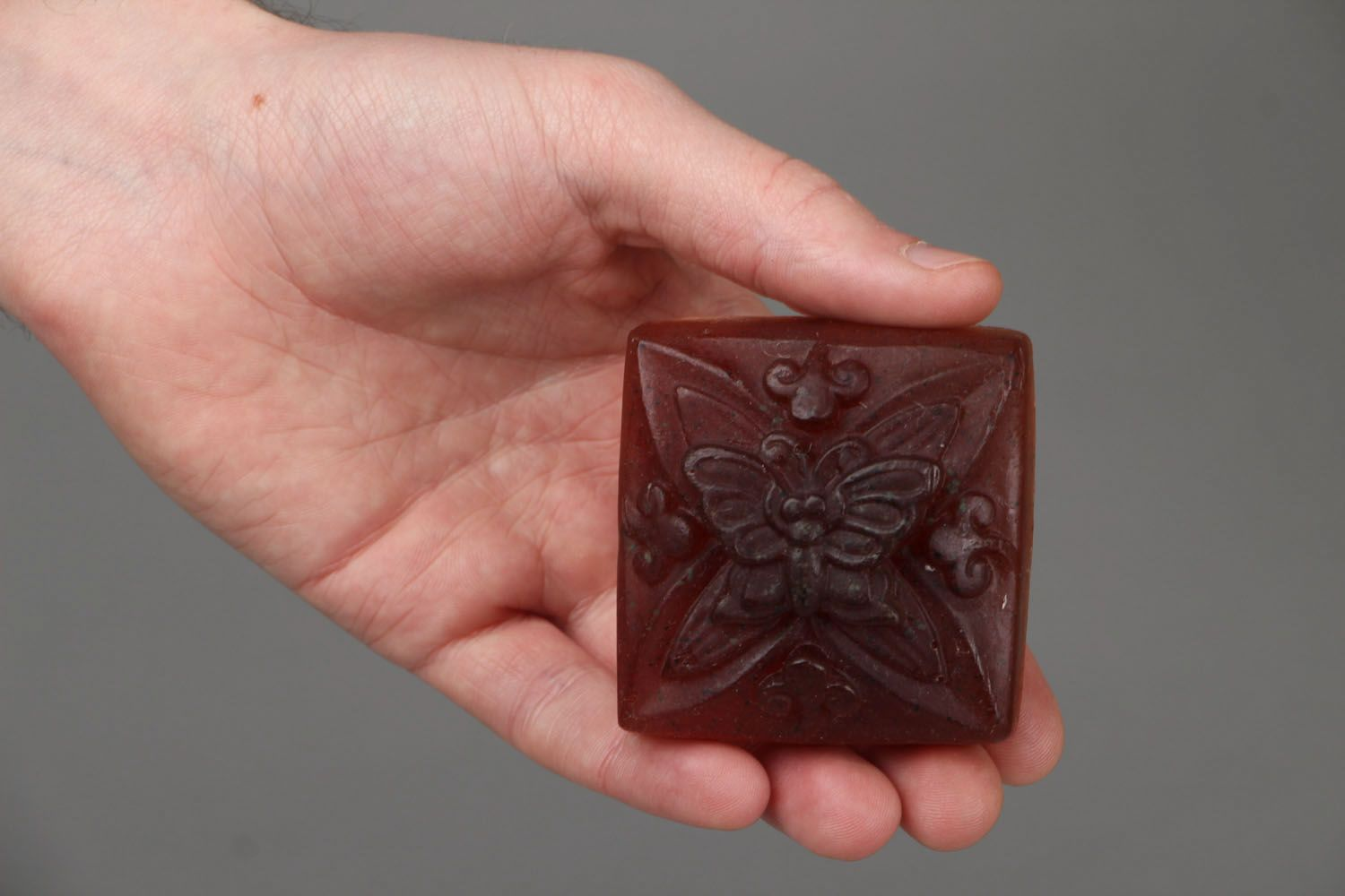 Natural soap Butterfly photo 4