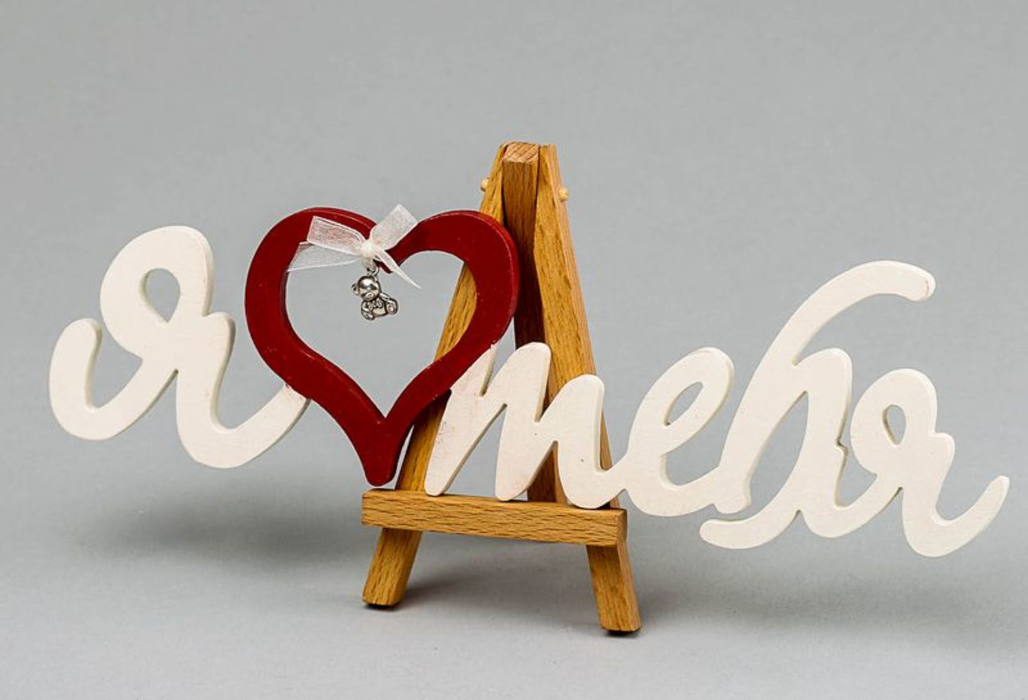 Chipboard lettering for crapbooking I love you photo 5