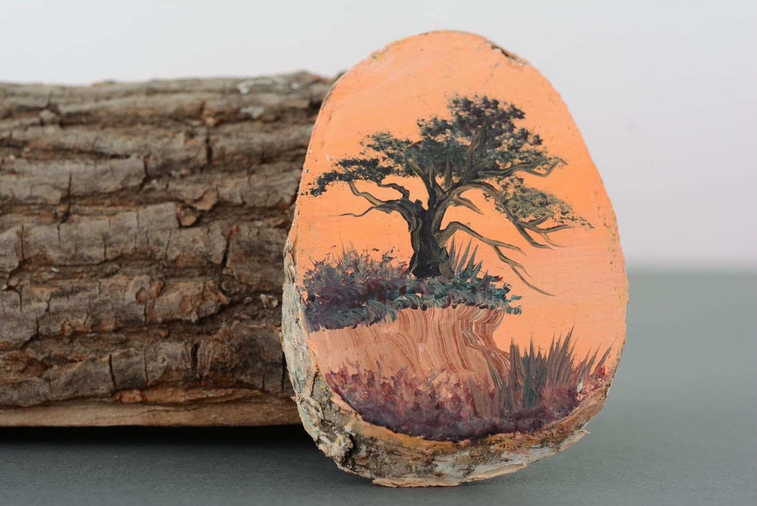 Magnet with scenery Old Oak photo 1
