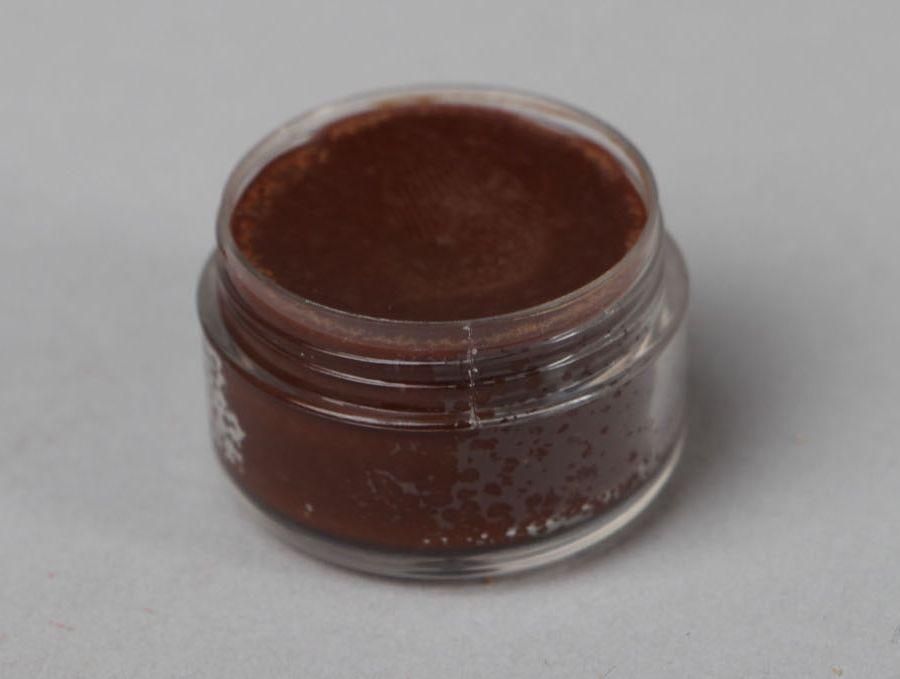 Natural lip balm with cocoa photo 1