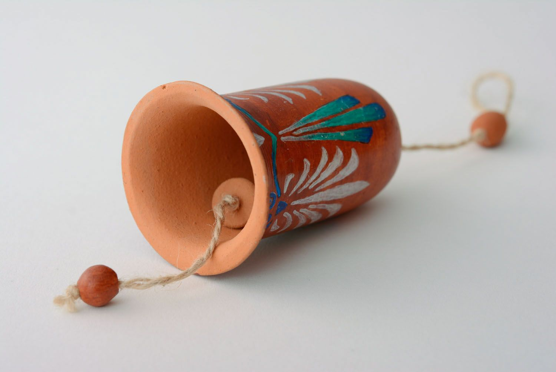 Large ceramic bell photo 5