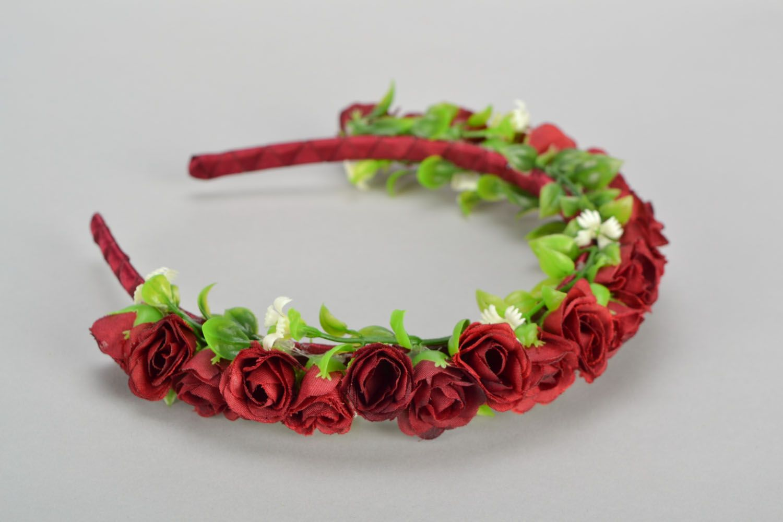 Head wreath Vinous photo 5
