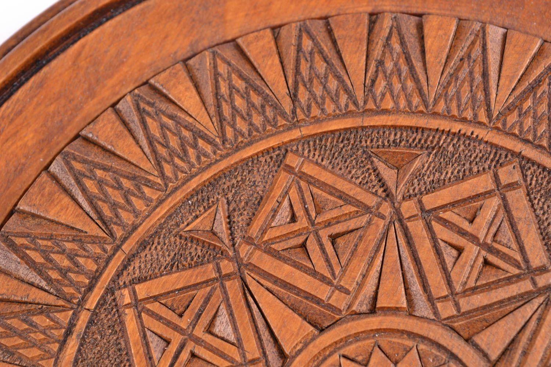 Handmade Holzteller Rund Wanddeko Aus Holz Ausgefallene Wanddekoration