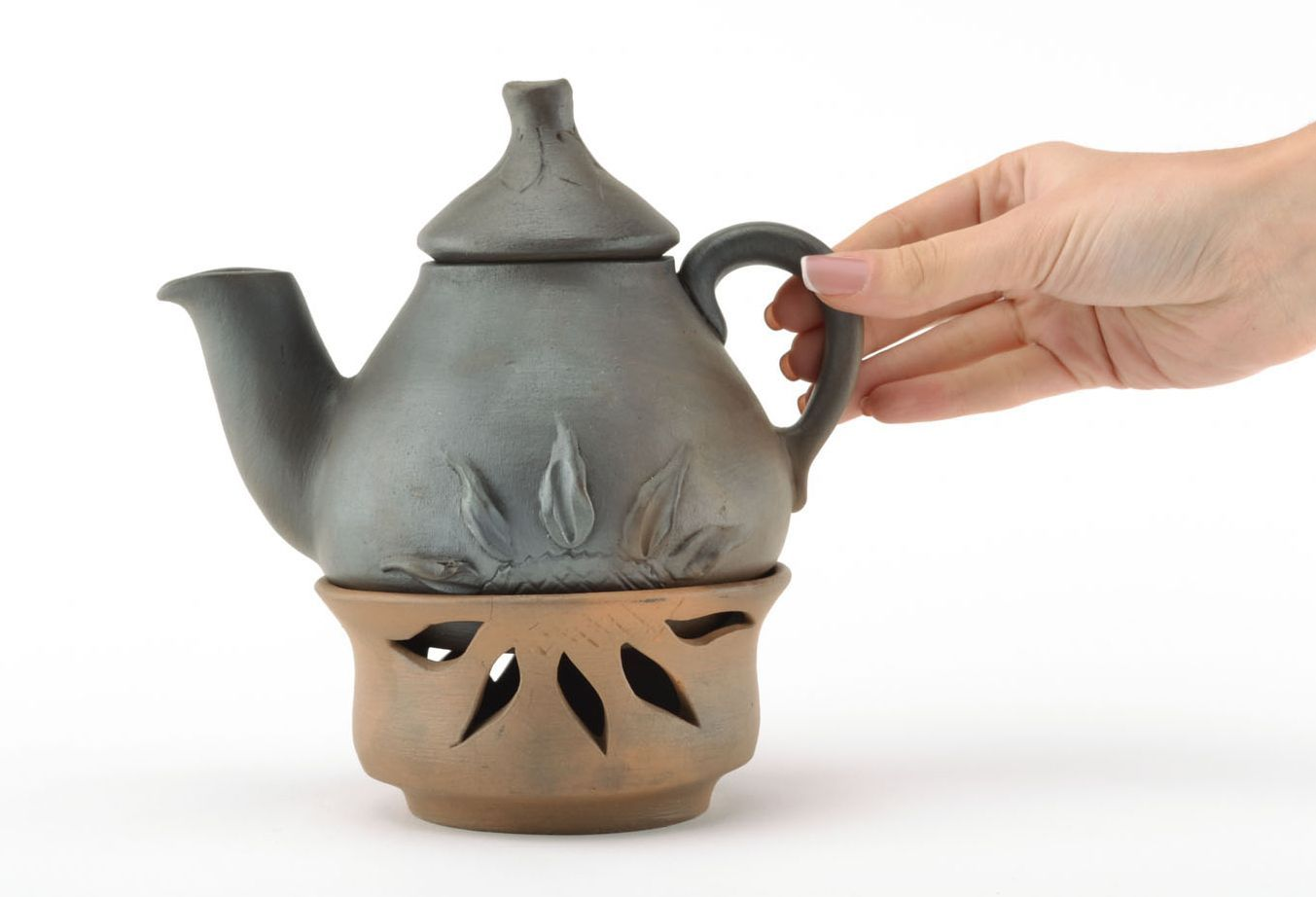 tea pots and coffee pots Homemade ceramic teapot - MADEheart.com