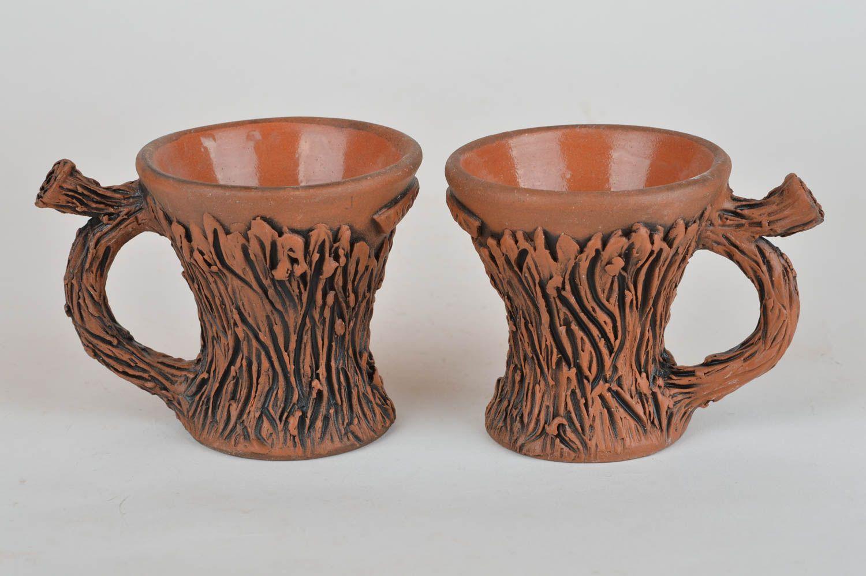 Madeheart juego de tazas decoradas originales de - Tazas decoradas a mano ...