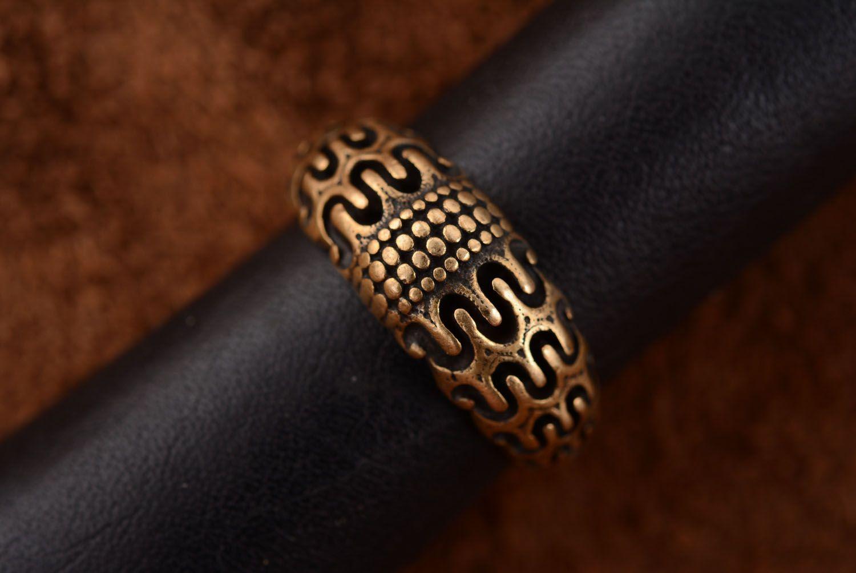 Bronze ring Scandinavia photo 3