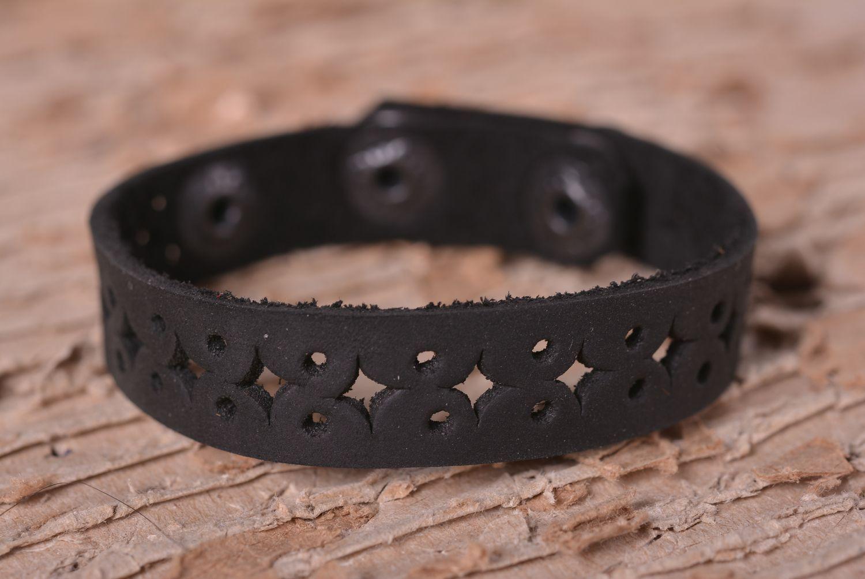 Handmade leather bracelet leather bracelets for women leather jewelry photo 1