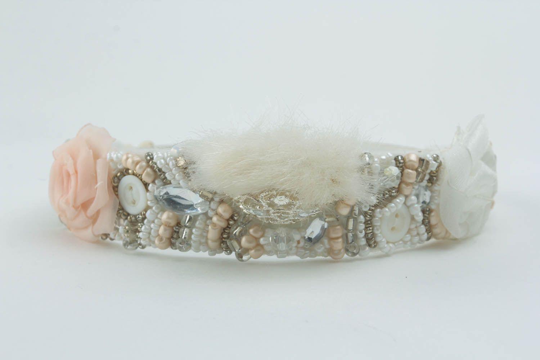 Beautiful handmade headband photo 1