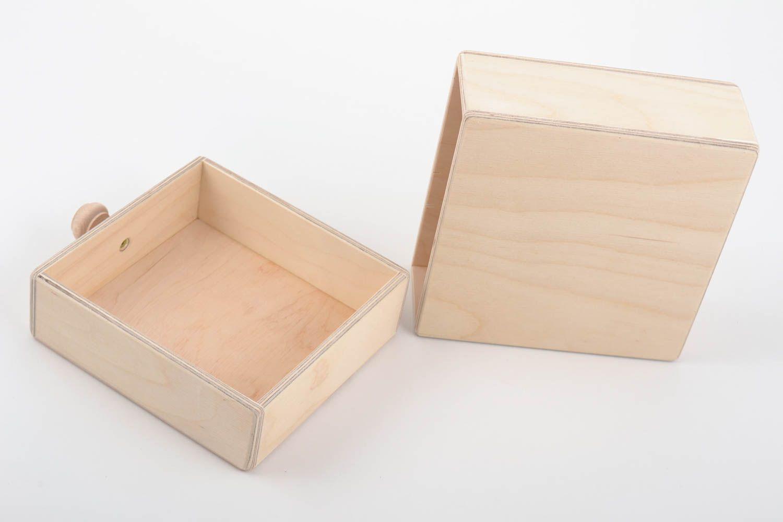 madeheart bo te tiroir en bois brut clair faite main d corer et peindre soi m me. Black Bedroom Furniture Sets. Home Design Ideas