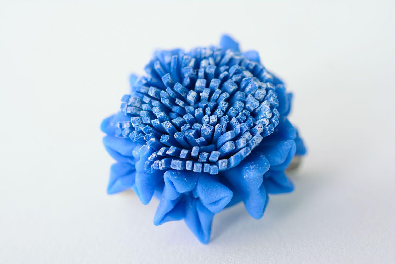 Designer flower brooch photo 5