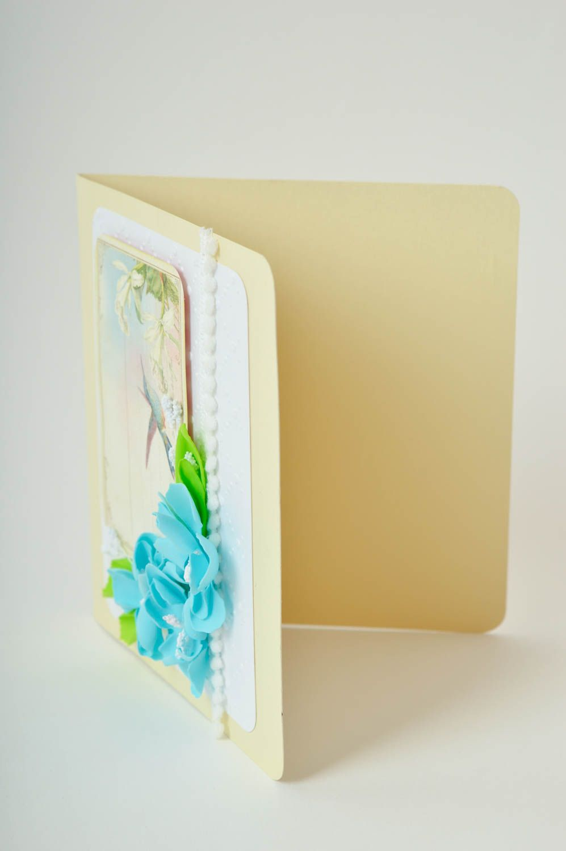 Handmade greeting card paper greeting card designer postcards souvenir ideas photo 4