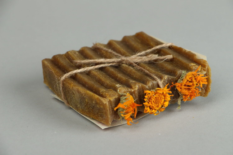 Natural sedative soap Calendula photo 4