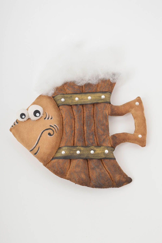 Beautiful lovely toy stylish unusual accessories designer handmade fish photo 2