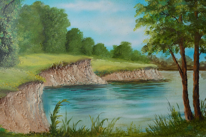 другие вопросы берег реки рисунок чего можно