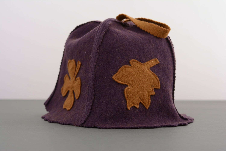 Hat for sauna photo 1