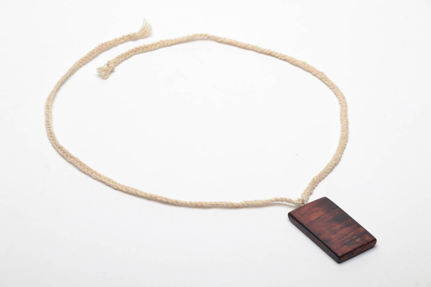 Wooden pendant Ethnic photo 4