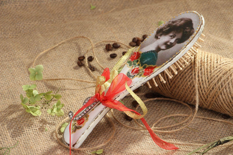 Массажная расческа для волос  фото 5