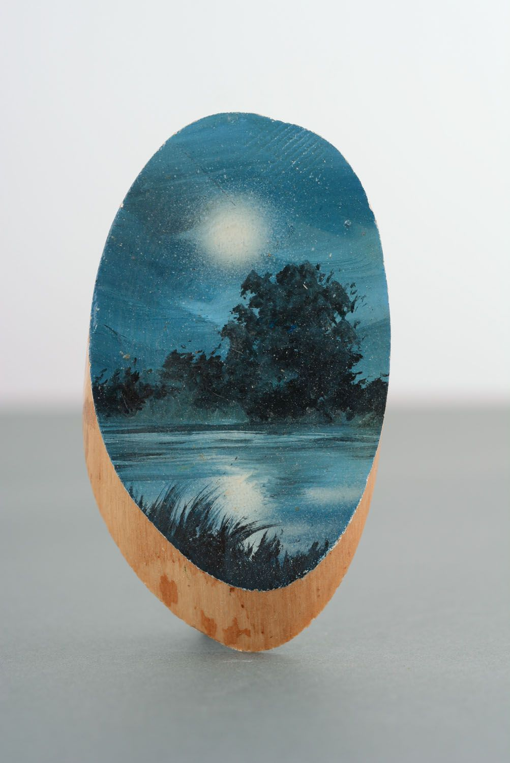Fridge magnet Moon Night photo 4